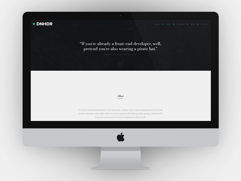 First preview of my new site simple clean web webdesign web design website portfolio