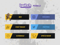 twitch.tv Panels