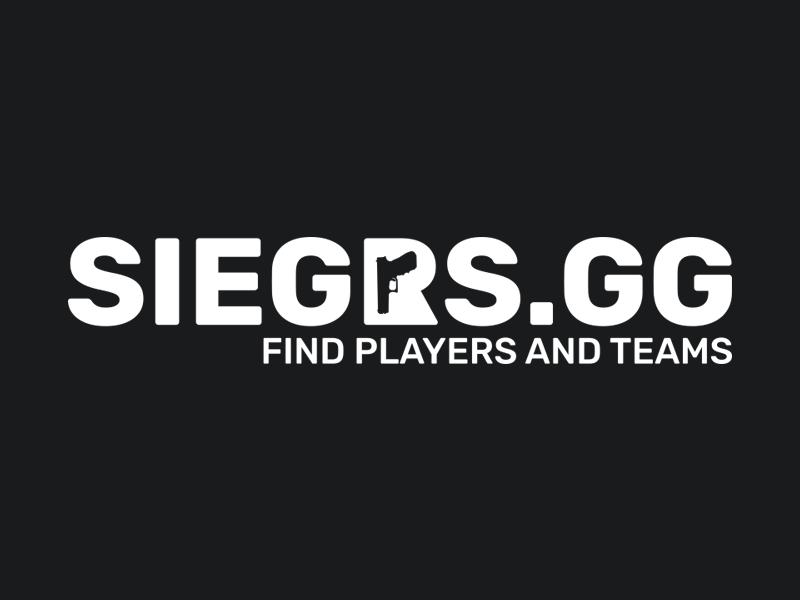 New brand id for Siegrs.gg simple logotype logodesign logo