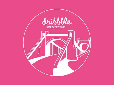 Dribbble WroMeetup #3 symbol city dribbblecommunity wroclaw dribbblewromeetup meetup