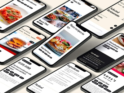 The Pass colour ui foodie london culture culinary blog recipe food website pass