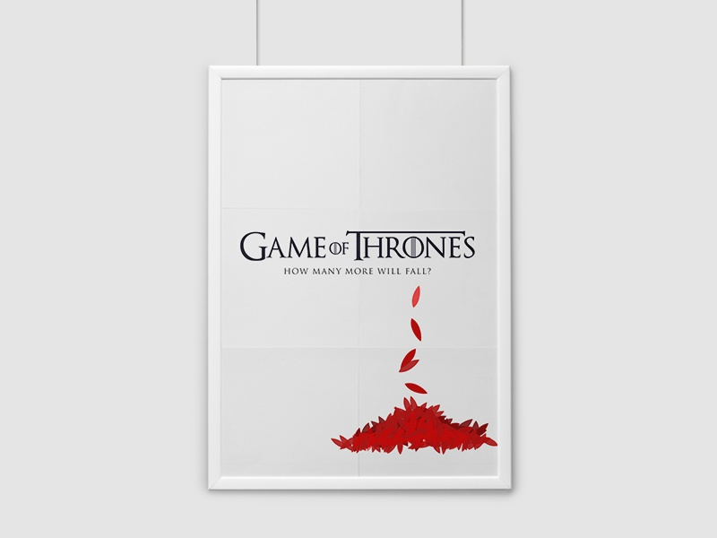 How Many More Will Fall? game of thrones poster movie wallpaper download