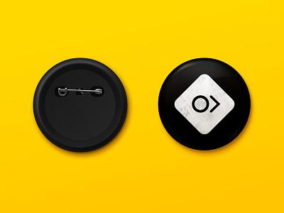 Pin Button Mockup badge pin button mockup brand