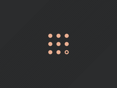 Logo Mark branding brand design minimal dots project secret mark logo