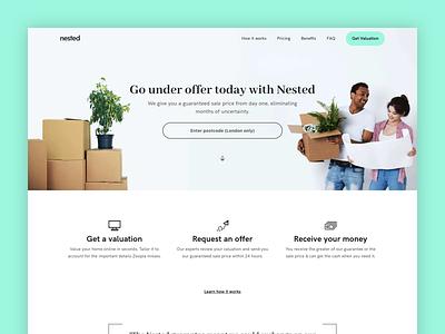 Our new website agency estate real home value new design branding app website