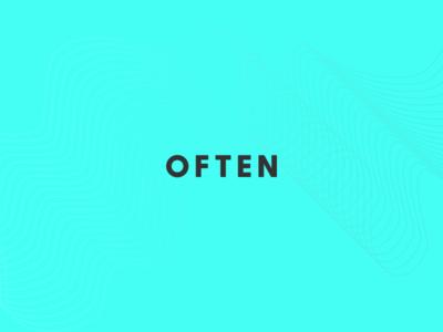 OFTEN x Palette