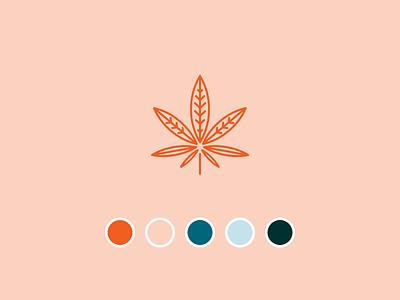 CBD Brand palette weed cannabis hemp oil brand cbd