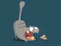 Vicious cat