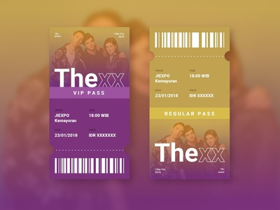 The xx Ticket