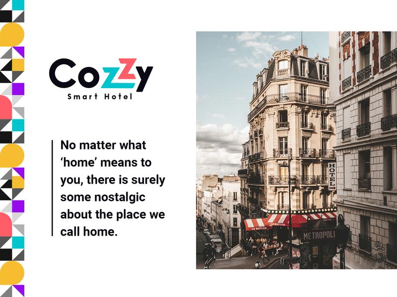 Brand Identity for Cozzy app v2 product design illustration webdesign cozzy typography dunjamilosev moyedesign moye vacation branding mobile app design app