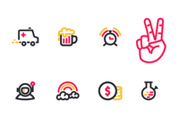 Icons - Free - Gift