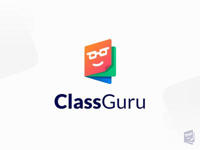 Class Guru colors vibrant book education learning virtual school