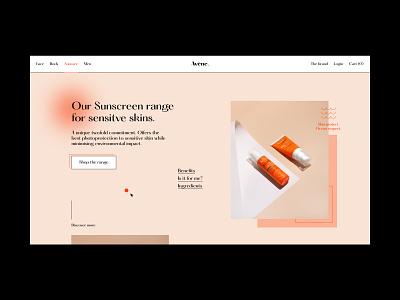 Power Hour // 04 — Avène web design web light ui minimal product page product design clean typography website design website interface ui design ui ux