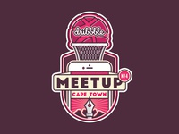 Dribbble cape town meetup   badge teaser
