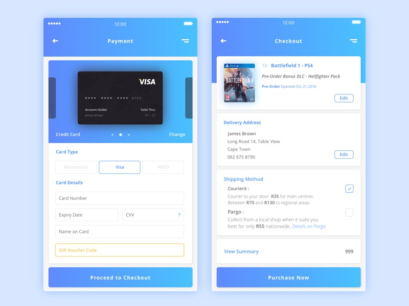 how to add a second credit card to app store