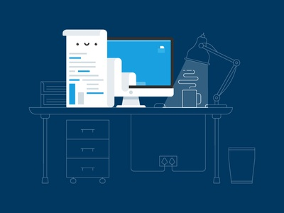 Illustration // Style Test cute flat branding vector illustration character design