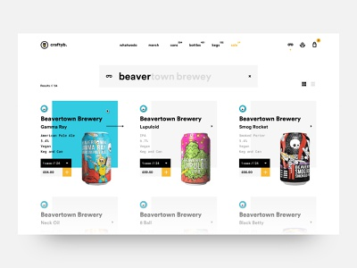 Daily UI #022 // Search beer search bar search design daily ui minimal light ui clean ui ui
