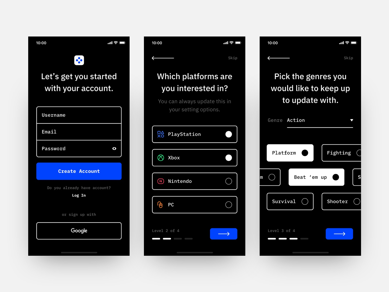 Daily ui 23 onboarding post