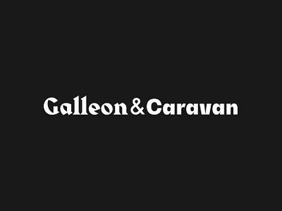 Galleon&Caravan logo ui animated evrone design block website site dark promo web caravan galleon change cinema4d cinema 3d illustration transition animation blockchain