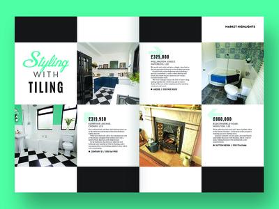 Magazine feature - tiled floors