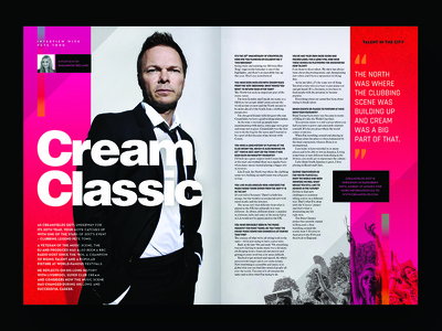 Magazine feature - Pete Tong interview