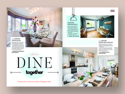 Magazine feature - dining rooms