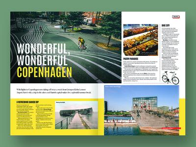 Magazine feature - Copenhagen guide