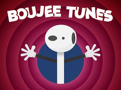 Boujee Tunes illustration parody vector doodle design illustrator cartoon airpods looney tunes boujee