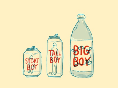 BeerBoys boys beer doodle cartoon illustration design
