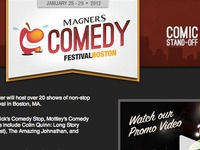Magners Comedy Website