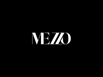 Mezzo clothing fashion website update custom type logotype type identity logo
