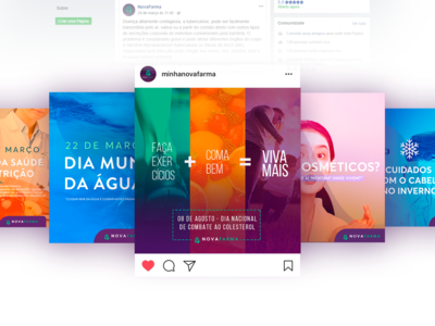 Social Media | Nova Farma
