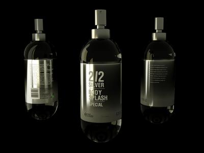 packshot perfume study