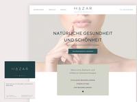 Branding & UX for Natural Healer & Aesthetic aesthetics health webdesignagency branding agency webdesign rebranding rebrand redesign branding design branding design uxui