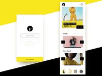 Fashion Appdesign Practice