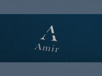 Amir Logo Design