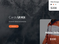 Free UI Cards UI Library & Template