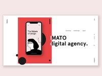 Agency Landingpage Concept