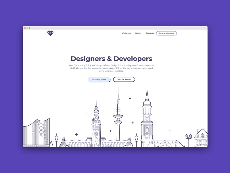 Design Community Ladningpage icon sketch logo illustration ux branding typography ui design uxui