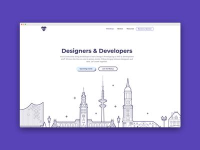 Design Community Ladningpage
