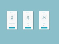 App Onboarding Screens for Medical App +Besser