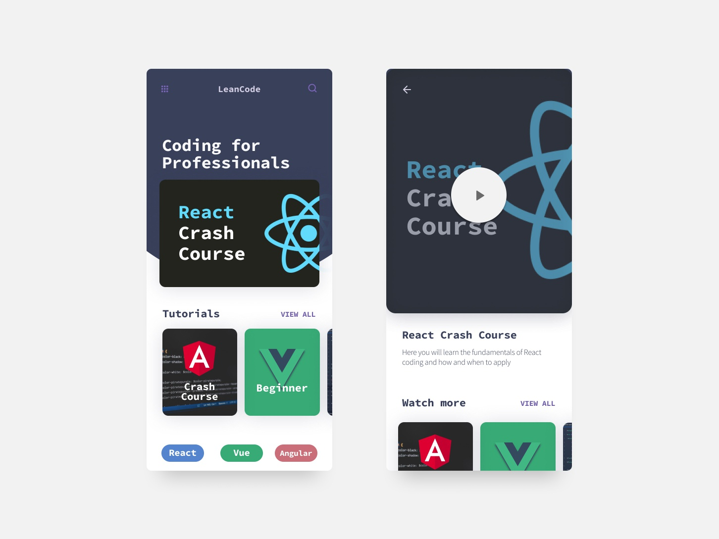 Code Learning WebApp flat app website logo clean concept development code web appdesign app design ui ux product design productdesign design uxui