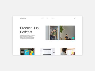 Minimalistic Website Concept