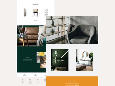 Canes - Landing page Concept & e-commerce Template