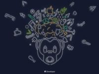 Bear Wallpaper WWDC19