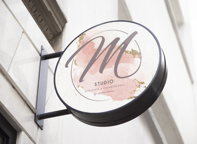 M Studio Cosmetic by Márcia Pereira Sign