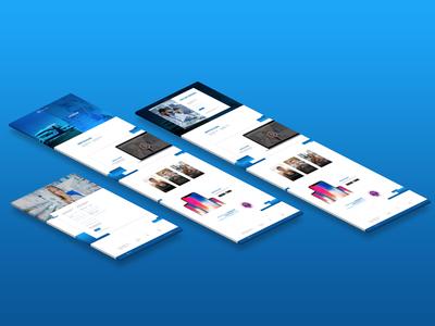 UI/UX Proposal for E-Learning Platform ui design responsive ui  ux ux ui mockup communication graphic design