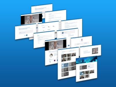 UI/UX Proposal for E-Learning Platform ux design ui  ux ui design ui ux mockup communication graphic design