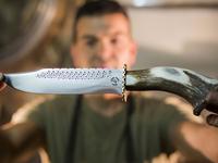 Gilberto Ferreira Portugal knife maker Blacksmith Logo