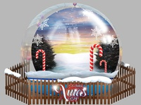 "Christmas ""Xmas Party"" Snow Globe for 2018"